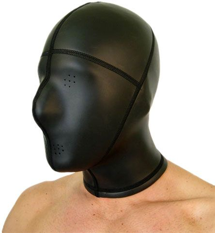 Neopren Maske Blindfisch
