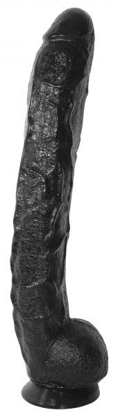 Dildo Big Scream schwarz 43 x 6 cm