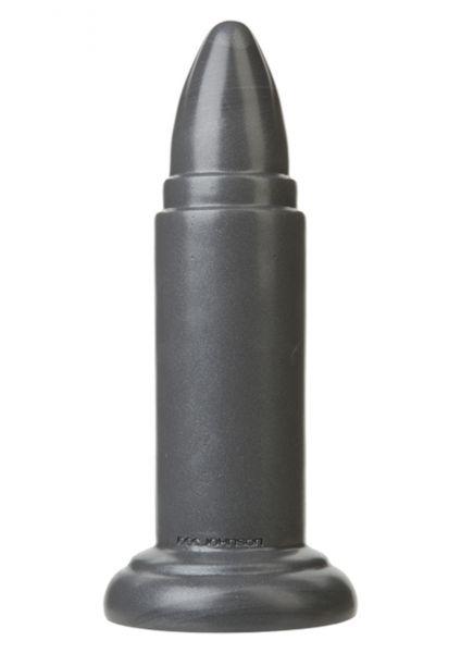 American B B10 Missile Gun Metal Dildo 22,5 x 5 cm