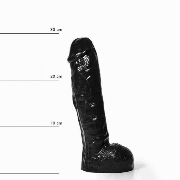 All Black Karsten Dildo 29 x 5,5 cm