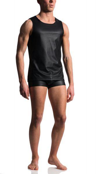 Manstore sexy Achsel-Shirt schwarz