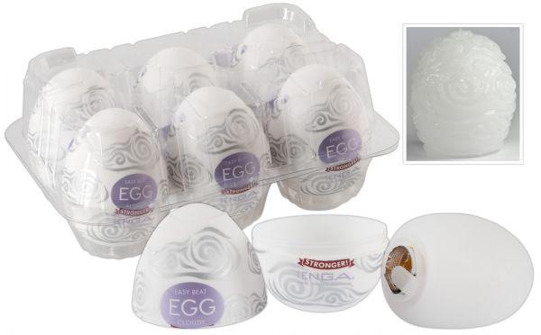 Tenga Egg Cloudy 6er