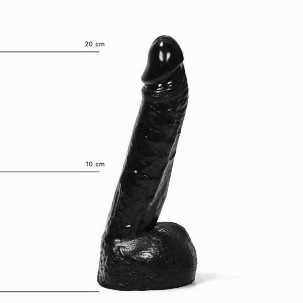 All Black Knick Dildo 22 x 5 cm