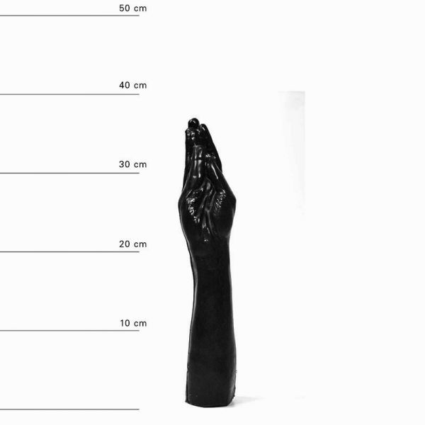 All Black Army Fist Dildo 37 x 7 cm