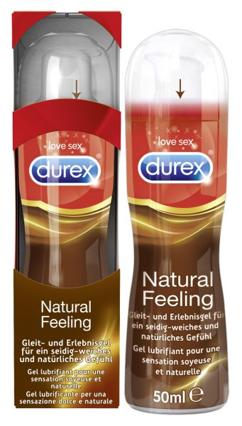 Durex Play Gleitgel Natural Feeling 50 ml