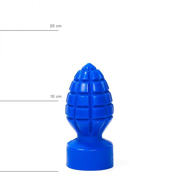 All Blue Andreas Buttplug 15 x 6 cm