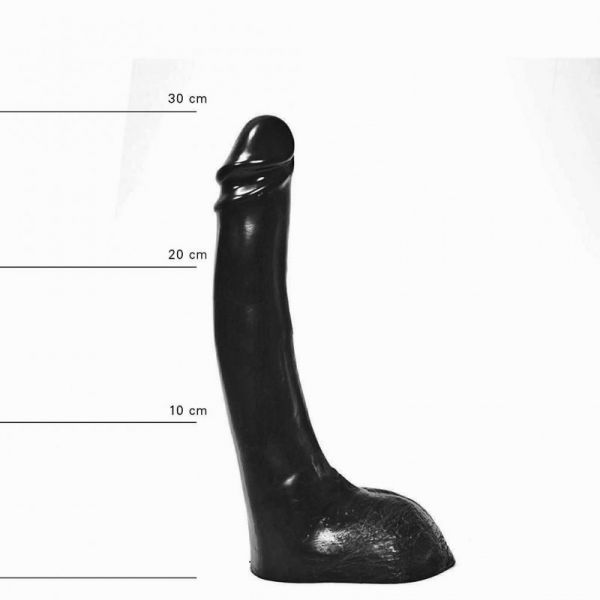 All Black Sven Dildo 32 x 5,5 cm