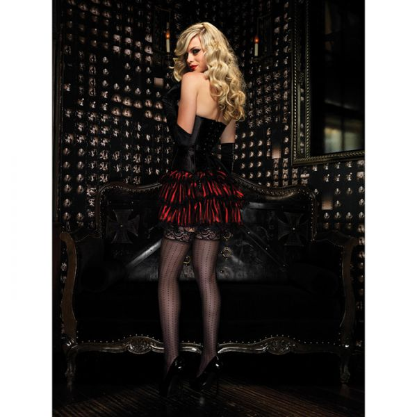 Leg Avenue Satin Burlesque-Rock Rot
