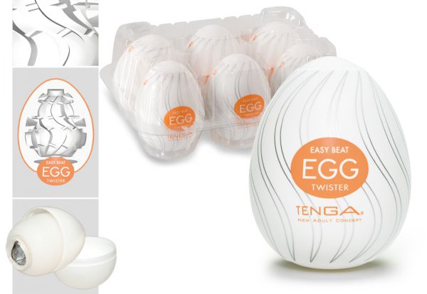 Tenga Egg Twister 6er