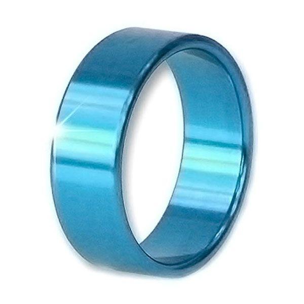 Alu Penisring blau 5,5 cm