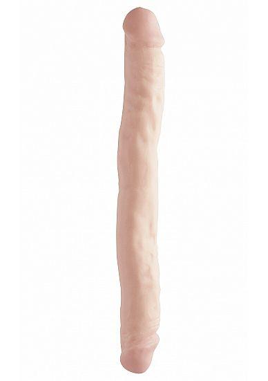 Doppeldildo Doppeldecker natur 30 x 4,4 cm