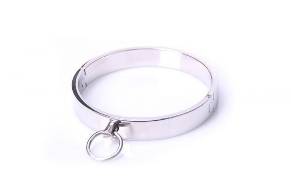 Halsband Edelstahl-Ring L