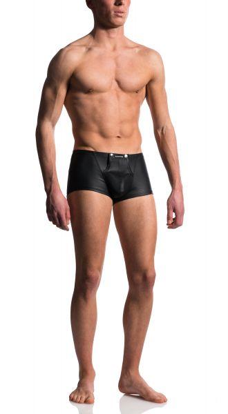 Manstore Boxer Shorts Stripper schwarz