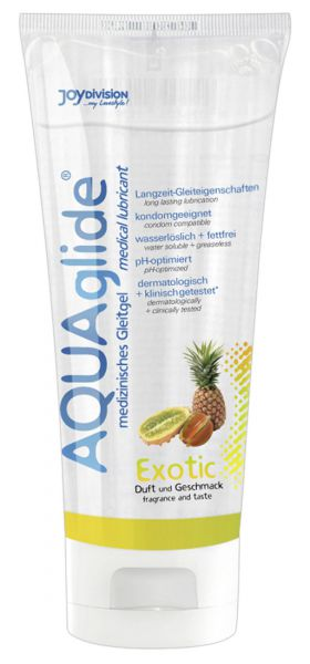 Gleitmittel Aquaglide Exotic 100 ml