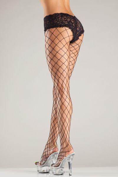 Strumpfhose Netz mit Slip