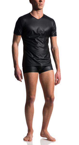 Manstore sexy T-Shirt schwarz