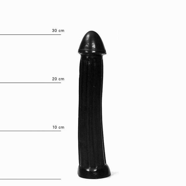 All Black Pickle Dildo 31 x 5,5 cm