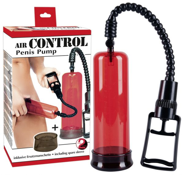 Penispumpe Air Control 22 x 6,5 cm