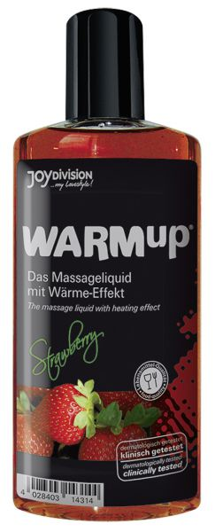 Warm-Up Massageöl