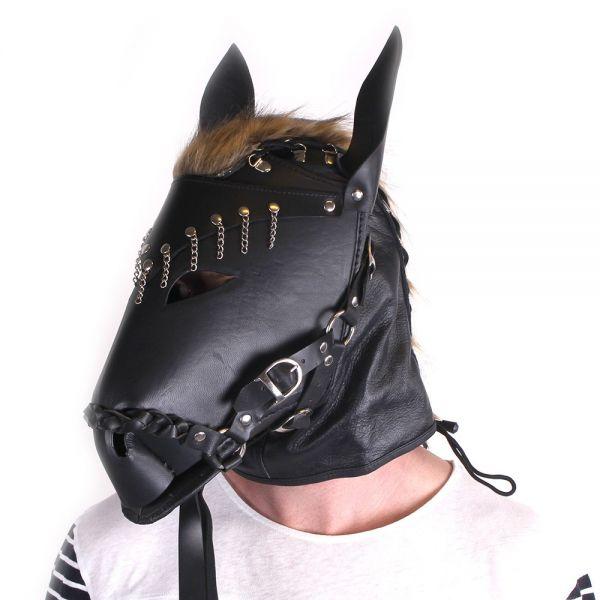 Maske Wilder Hengst