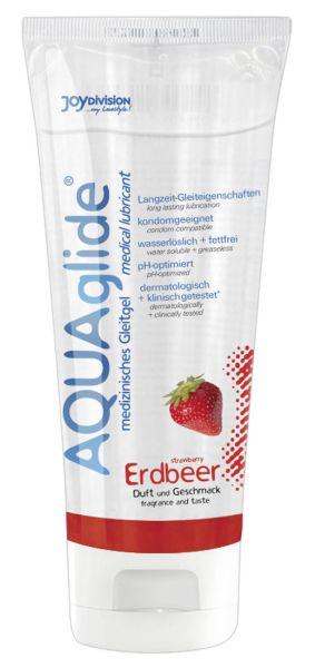 Gleitmittel Aquaglide Erdbeer 100 ml