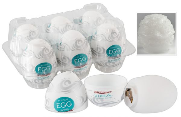 Tenga Egg Surfer 6er