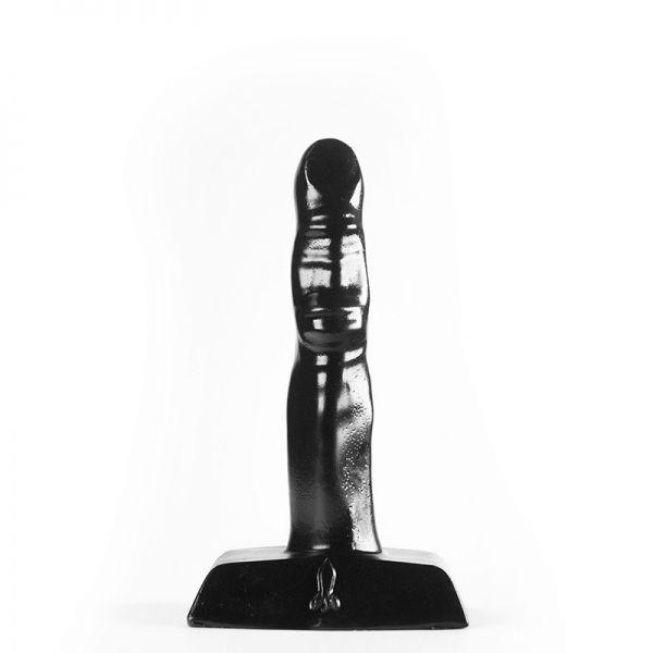 Analplug flinker Finger schwarz 10 x 2 cm