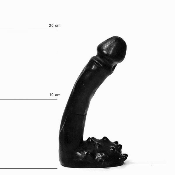 All Black Burkhard Dildo 18,5 x 3 cm