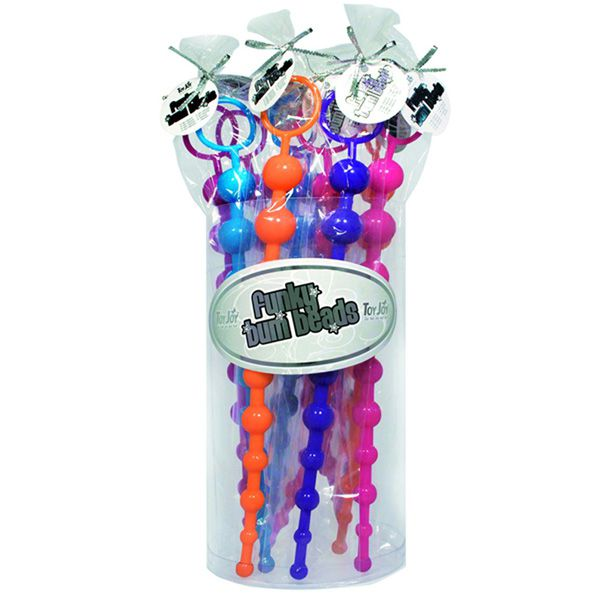ToyJoy Funky Bum Beads Analkette 30 x 2,2 cm