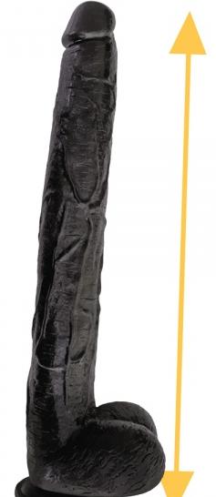 Riesendildo Jonny Twice, 43 x 5,5 cm