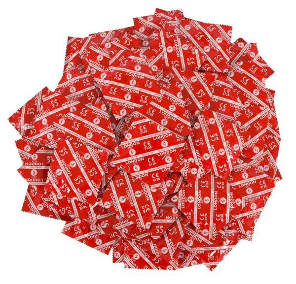 London Rot Kondome 100er