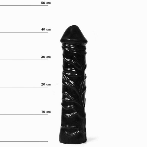 All Black Ader Dildo 31 x 6,5 cm
