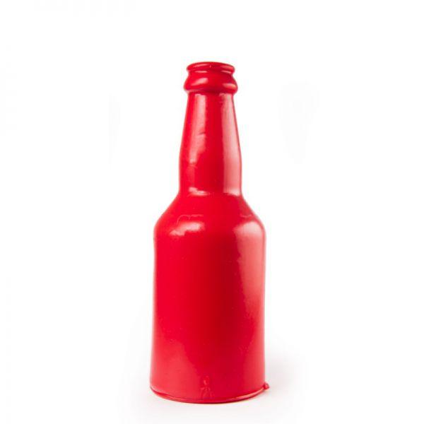 Dildo Flasche rot 18,5 x 7 cm