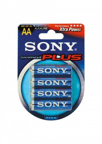 Sony Stamina Batterien AA 4er