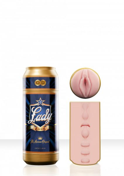 Masturbator Sex in a Can Lady Lager Beer