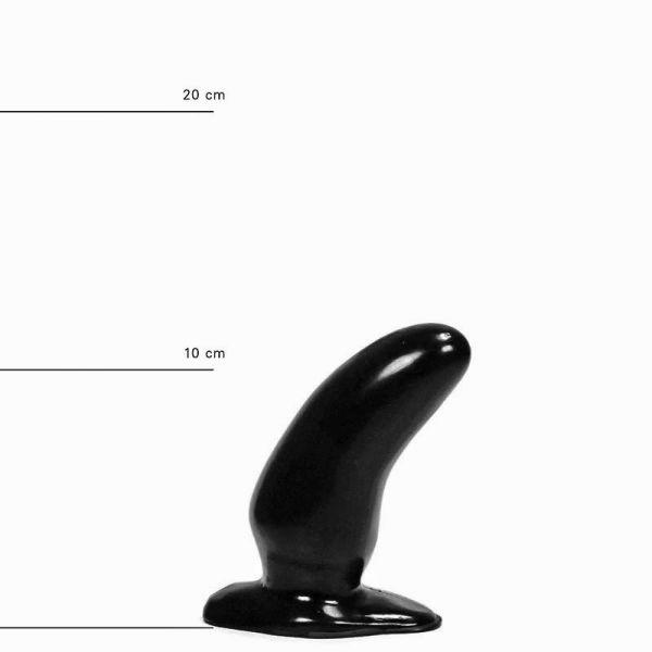 All Black Prostata Plug 13 x 5 cm