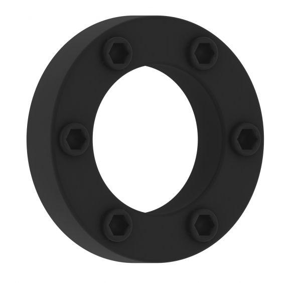 Penisring genoppt schwarz