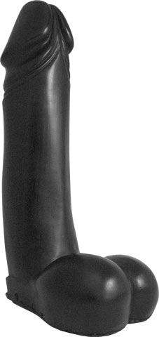 Domestic Partner The Invincible Dildo schwarz 33 x 8 cm