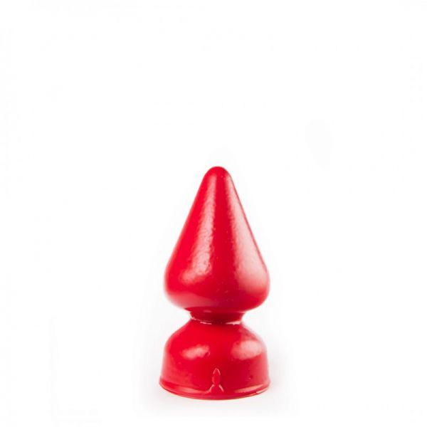 Buttplug Pilz rot 16 x 5,5 cm