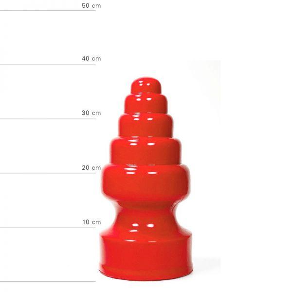 All Red Plug von Hanoi 27 x 13,5 cm