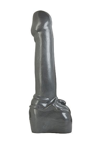 Atom Bomb Gun Metal Monster Dildo 38 x 7 cm