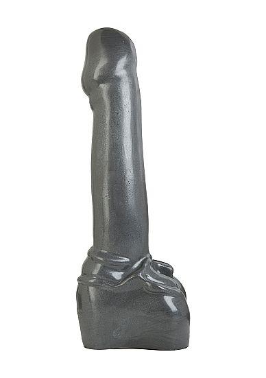 Atom Bomb Gun Metal Monster Dildo 38 x 7 cm