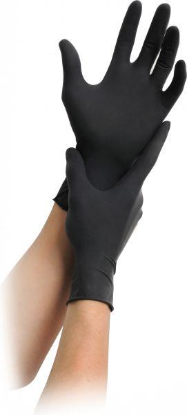 Handschuhe Latex schwarz