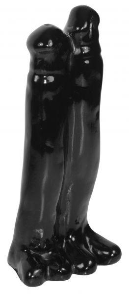 Dildo Doppelpack 26 x 8 cm