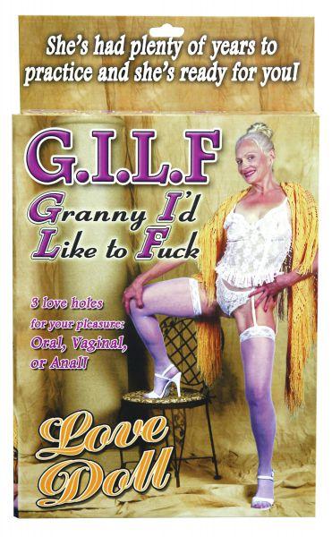 Liebespuppe horny Granny