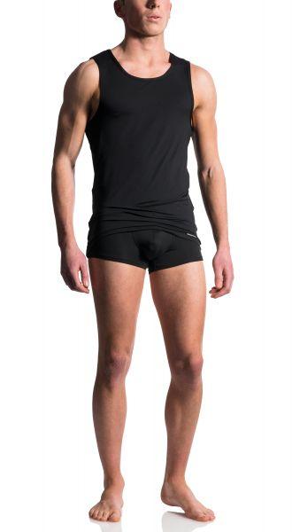 Manstore Achsel-Shirt schwarz