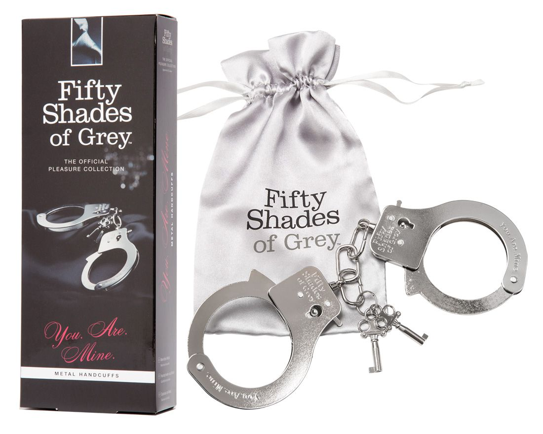 Fifty Shades of Grey You Are Mine Handschellen