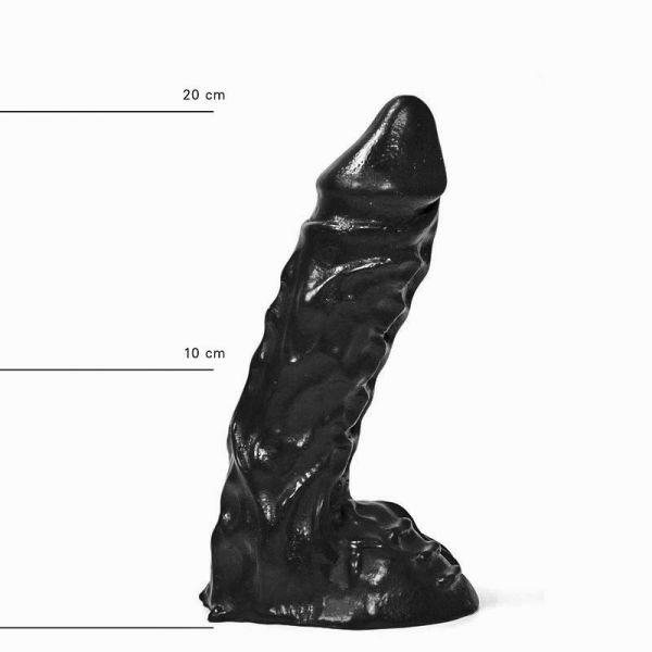 All Black Korrupt Dildo 23 x 5,5 cm