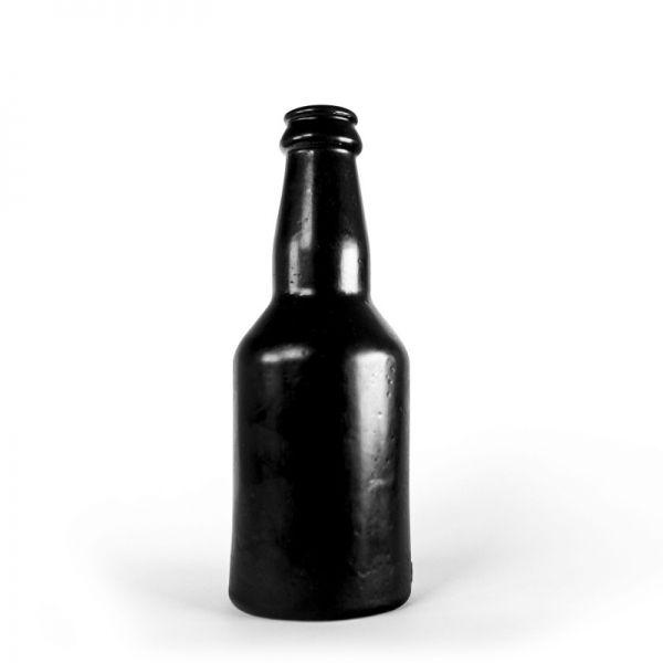Dildo Flasche schwarz 18,5 x 7 cm