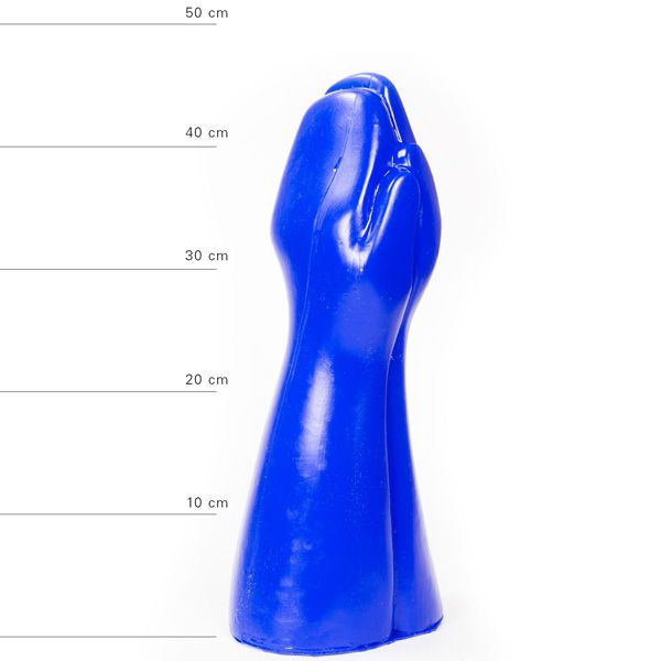 All Blue Big Prank Fistingdildo 39 x 16 cm